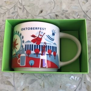 Starbucks Mug Oktoberfest 2019 YAH NEW Munich